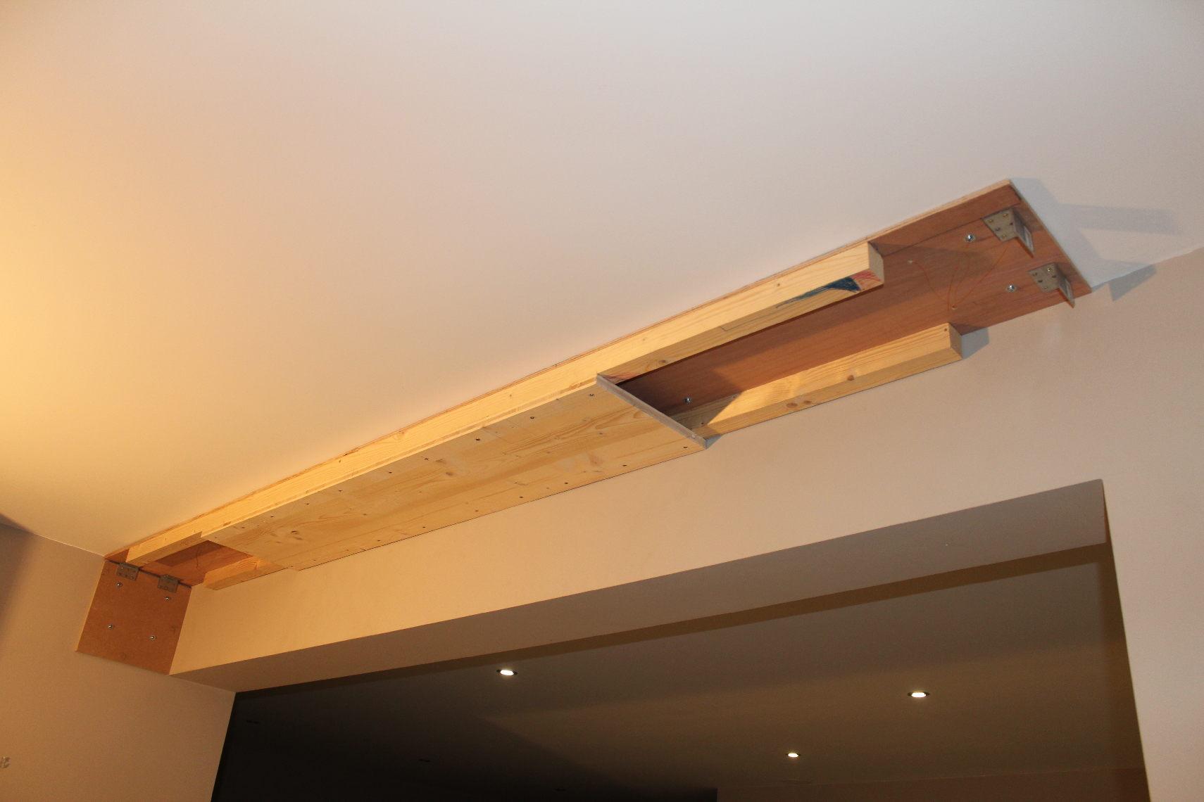 Salon Hc De Pou Coffre Projo Et Centrale Escamotable 30066677  # Comment Accrocher Les Planches A Tv Au Mur